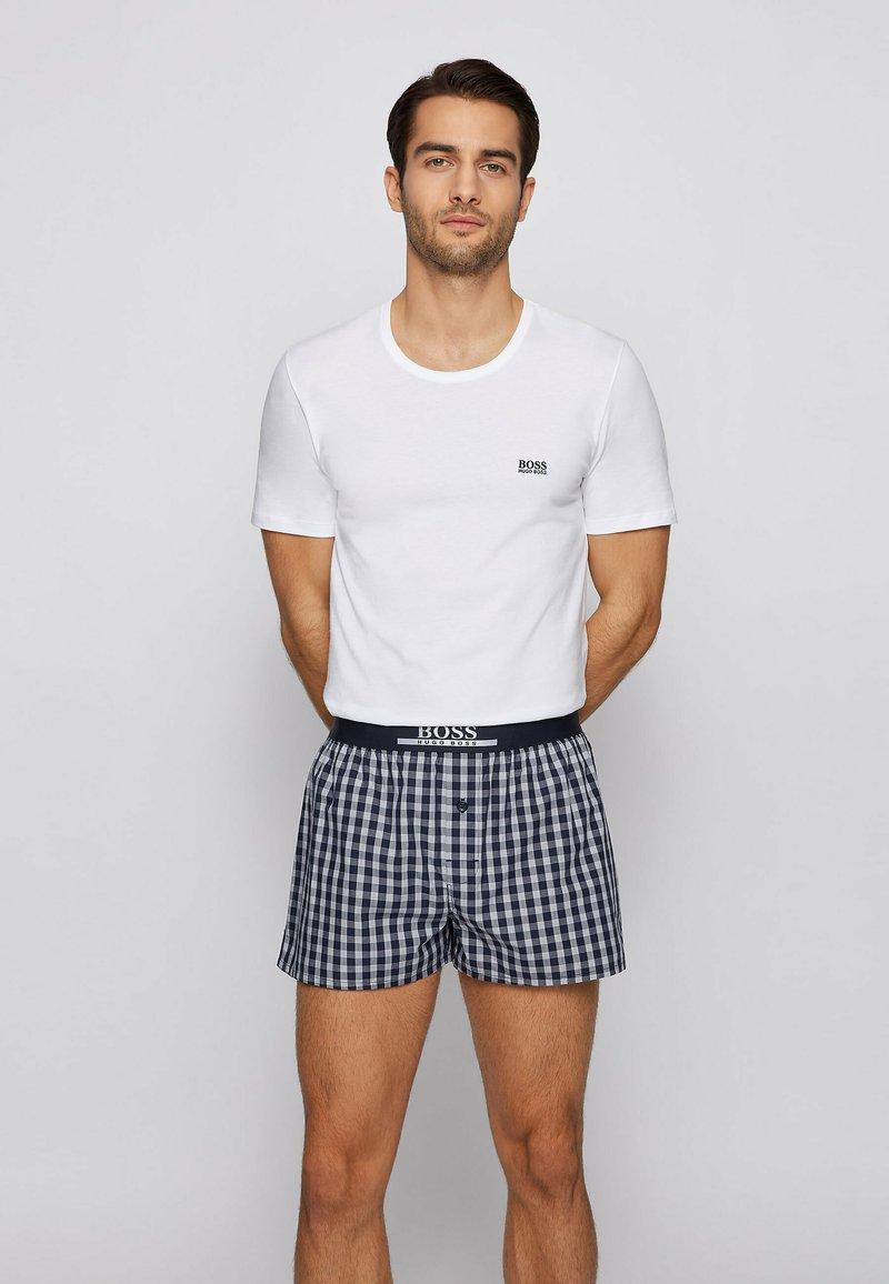 BOSS - 2 PACK - Pyjama bottoms - dark blue