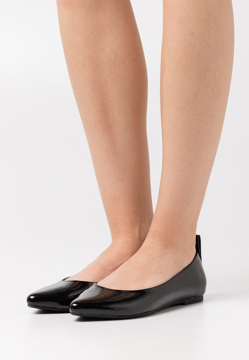 ONLY SHOES - ONLANAS HEEL - Ballerina - black