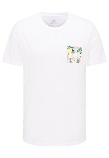 SUMMER LOGO - T-shirt med print - white canvas
