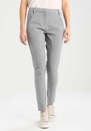 ANGELIE  - Trousers - dusty grey