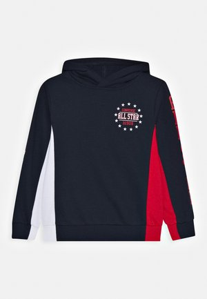 COLORBLOCK ALL STAR HOODIE - Hoodie - obsidian