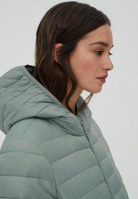 PULL&BEAR - Winter jacket - light green - 4