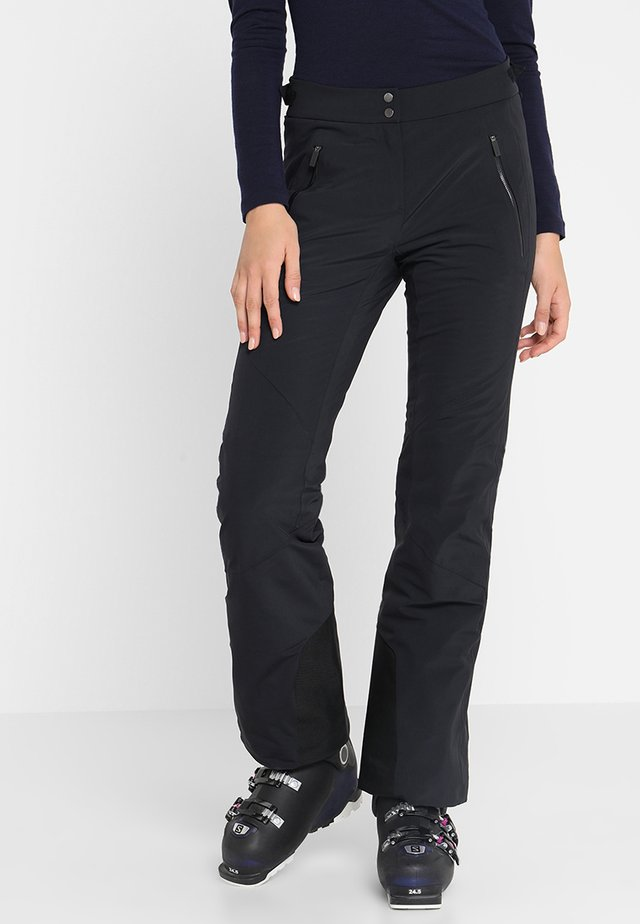 WOMEN FORMULA PANTS - Snow pants - black