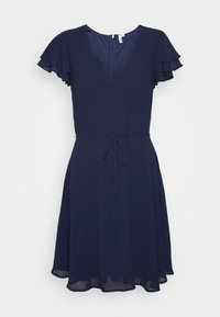 Nly by Nelly - DOUBLE FLOUNCE SLEEVE DRESS - Cocktail dress / Party dress - navy - 5