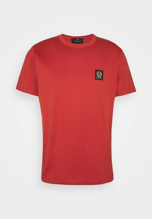 T-shirt basic - red ochre