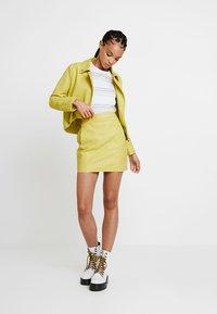 Even&Odd - Mini skirt - neon green - 1