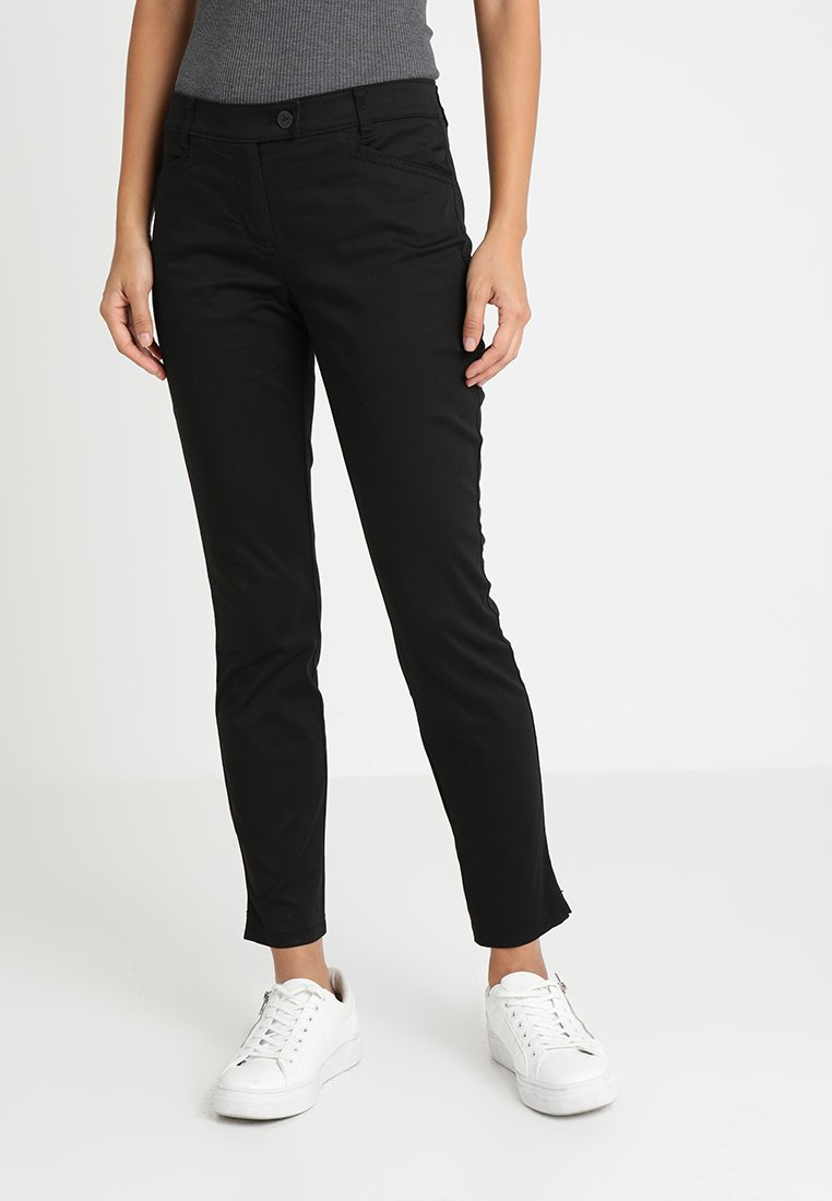 Marc O'Polo - PANTS FIT LAXA CASUAL - Trousers - black