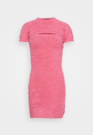PEEKABOO  - Shift dress - pink