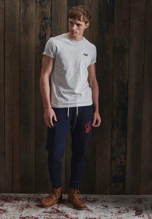 OL VINTAGE EMB  - T-shirts basic - mcqueen marl