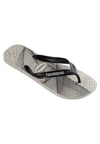 Havaianas - AERO GRAPHIC - Pool shoes - grey/black - 3
