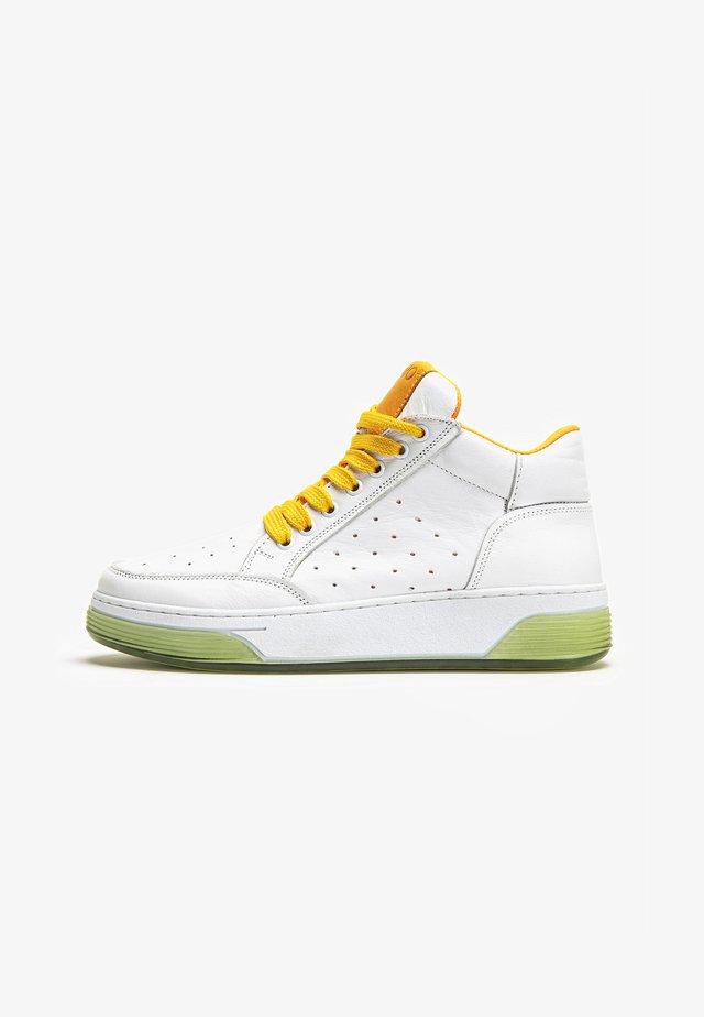 Sneakers laag - orange yellow