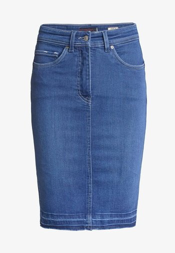 RÖCKE SECRET  - Pencil skirt - blue