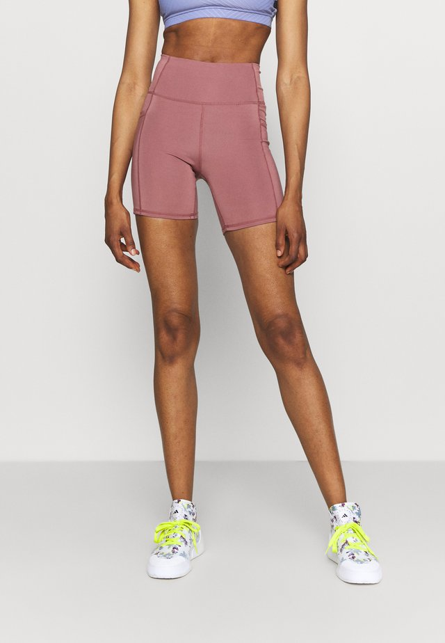 LIFESTYLE POCKET BIKE SHORT - Collant - dusty rose