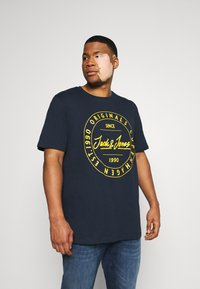 Jack & Jones - T-shirts print - navy blazer - 0