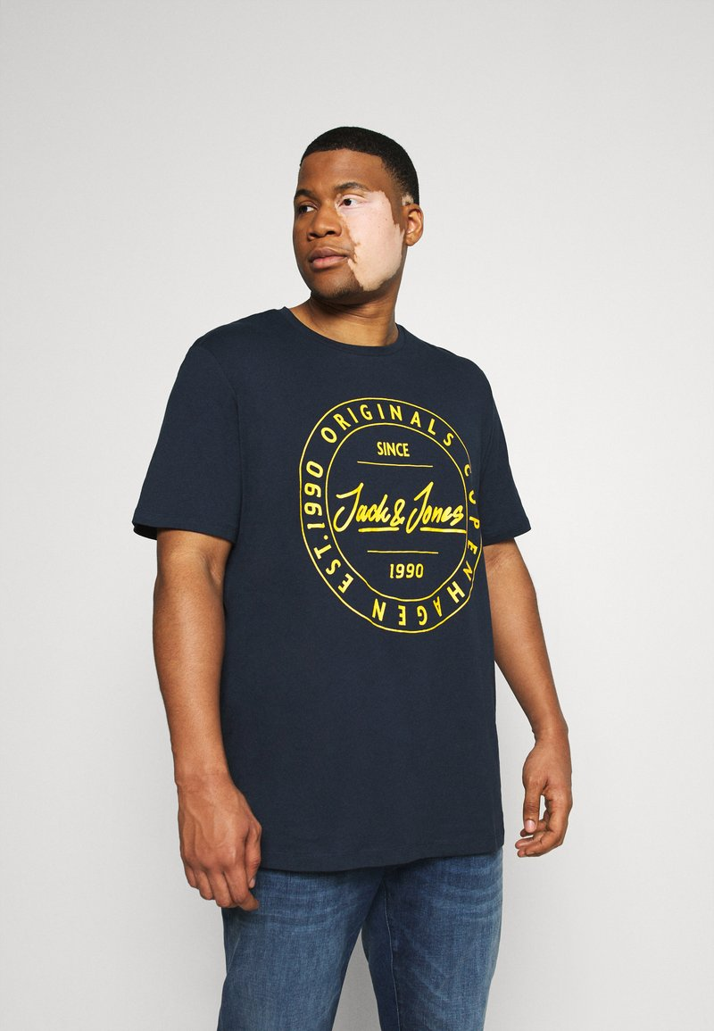 Jack & Jones - T-shirts print - navy blazer