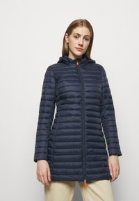 Save the duck - GIGA BRYANNA DETACHABLE HOODED - Winter coat - navy blue - 0