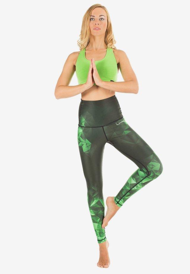 HWL102 RUBIN HIGH WAIST -TIGHTS - Legging - smaragd