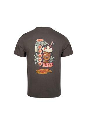FROTH HUT - Print T-shirt - military green