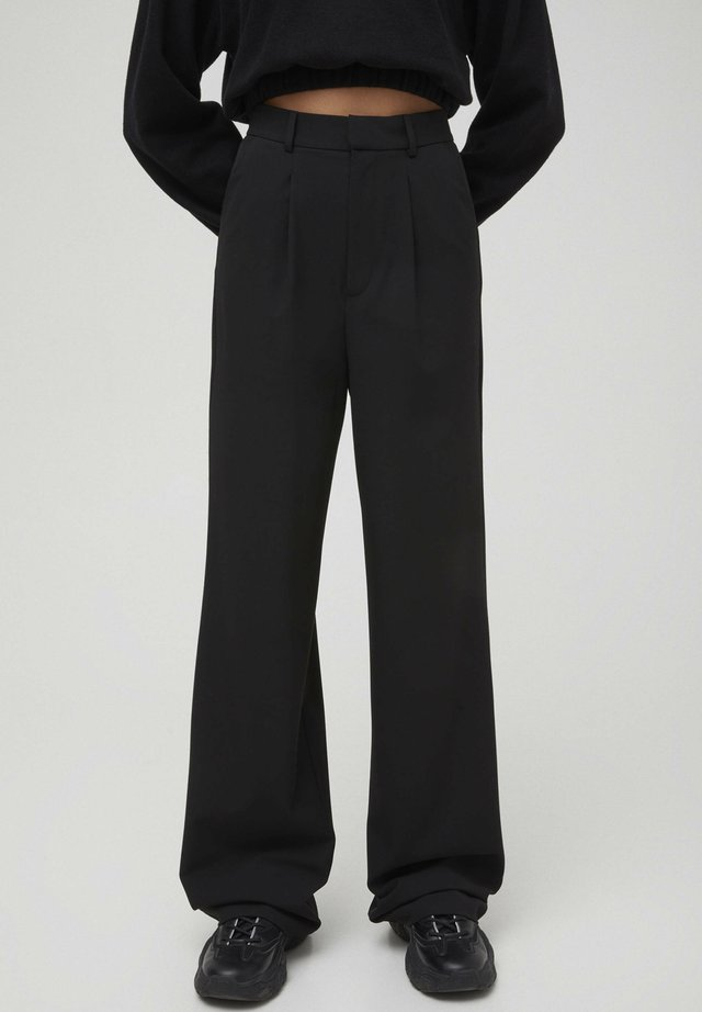 Broek - mottled black