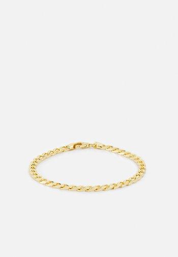 CUBAN CHAIN BRACELET UNISEX - Bracelet - gold-coloured