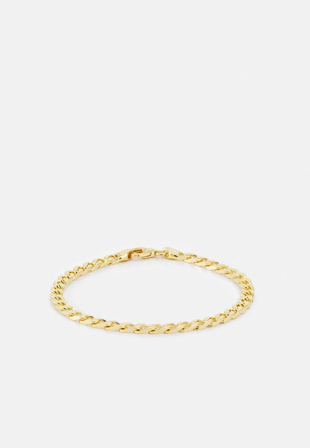 CUBAN CHAIN BRACELET UNISEX - Armband - gold-coloured