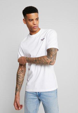 CASUAL SHORT SLEEVE GRAPHIC TEE - Basic T-shirt - white