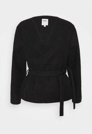 ONLTRILLION SHORT BELT JACKET - Blazer - black