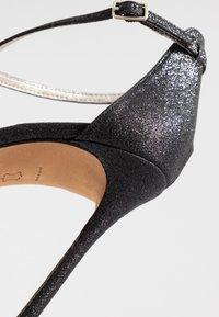 Pura Lopez - Sandalen met hoge hak - glitter black - 2