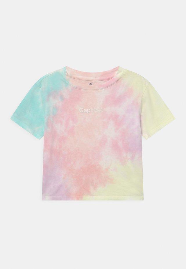 GIRL LOGO  - T-shirt print - purple