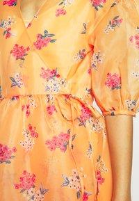 Who What Wear - WRAP DRESS - Day dress - blossom orange - 5