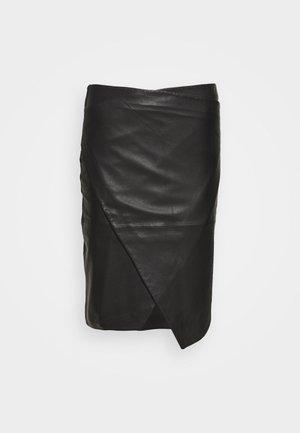 ABIGALE - Pouzdrová sukně - black