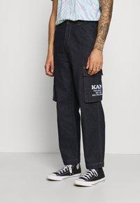 Karl Kani - BAGGY - Jeans baggy - dark blue - 3