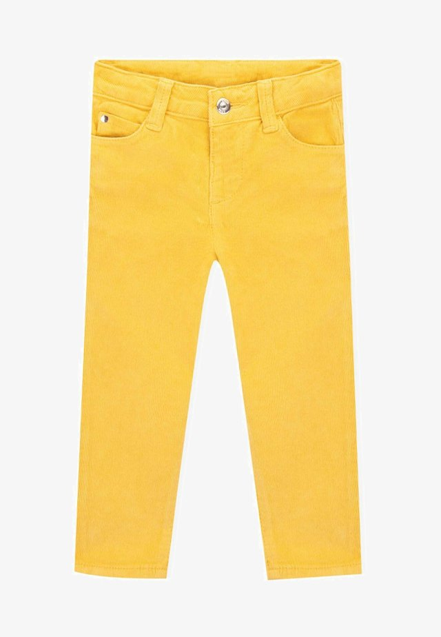 VIRGINIA  - Trousers - yolk yellow