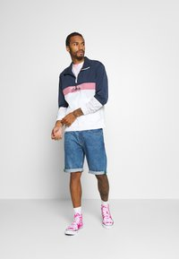 Hollister Co. - Summer jacket - navy/pink/white - 1