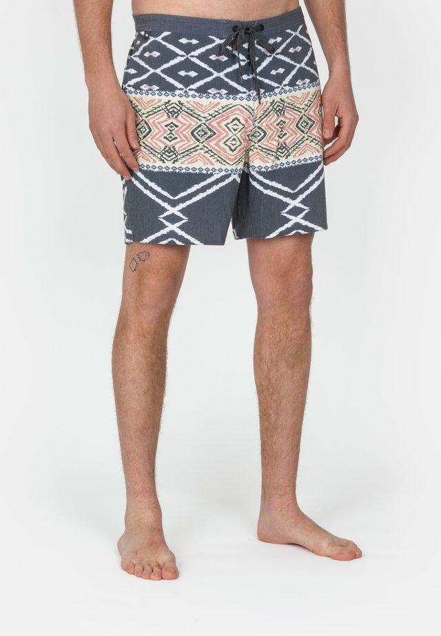 CHILLER BENIS - Swimming shorts - dark grey