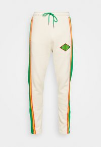 Jordan - PANT - Tracksuit bottoms - oatmeal/lucky green/track red - 4
