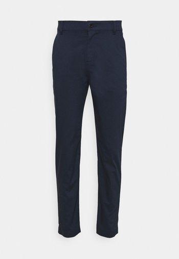 SLIM PANT - Pantalones - obsidian