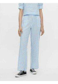 Pieces - Trousers - blue - 0