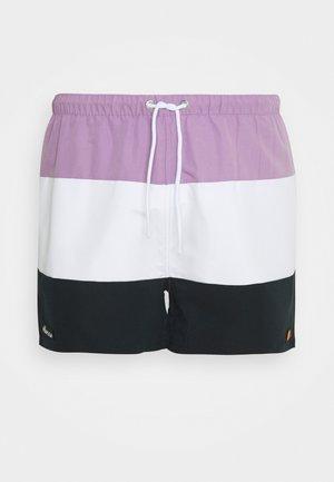 CIELO - Swimming shorts - lilac/white