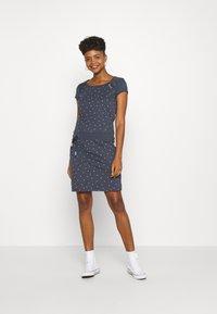 Ragwear - MIKE DRESS ORGANIC - Denní šaty - navy - 1