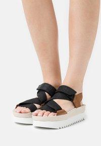 Clarks Originals - RANGER  - Platform sandals - brown - 0