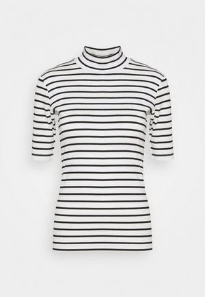 KAKAYLI LIDDY - Print T-shirt - black/chalk stripe
