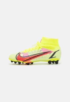 MERCURIAL 8 PRO AG - Voetbalschoenen met kunststof noppen - volt/bright crimson/black