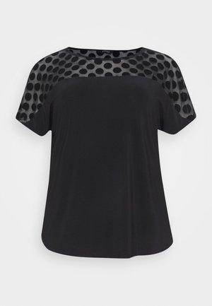 SPOT PANEL  - Blouse - black