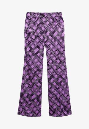 DONATELA - Spodnie materiałowe - lila
