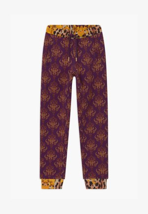Tracksuit bottoms - purple/yellow
