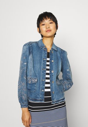 SAVANNA JACKET - Farkkutakki - denim blue