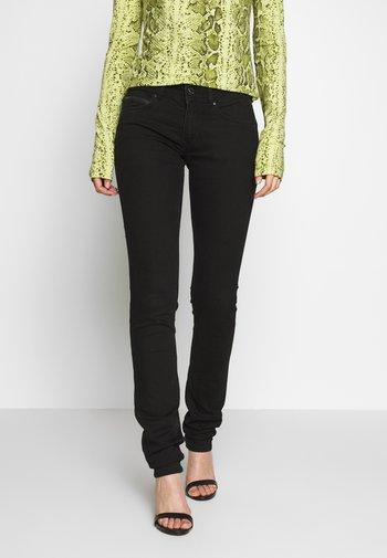 KATHA - Slim fit jeans - black denim