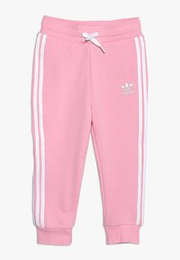 adidas Originals - TREFOIL HOODIE SET UNISEX - Trainingspak - light pink/white - 2