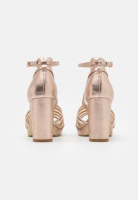 Anna Field - LEATHER - High heeled sandals - rose gold - 3
